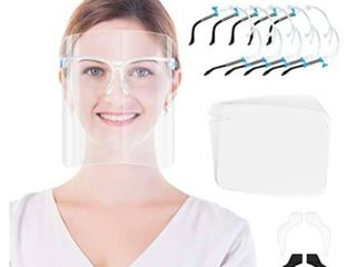 Anti fog Face Shield and Glasses