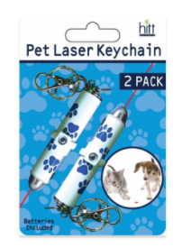 Two Keychain laser Pointers for Pets