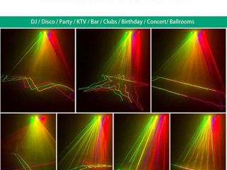 B264 laser light 460mW 4 lens Beam RGPY DMX