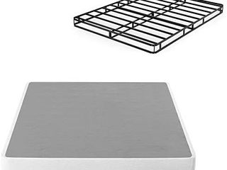 Zinus 5 Inch low Profile Smart Box Spring   Mattress Foundation   Strong Steele2