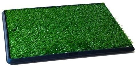 Artificial Grass Puppy Pad for Dogs and Small Pets a Portable Training Pad with Tray a Dog Housebreaking Supplies by PETMAKER