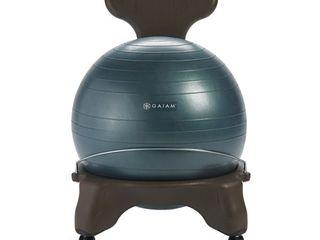 Gaiam Balance Ball Chair  Forest
