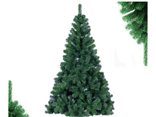 SoFun Direct Shop 4FT Christmas Tree Artificial Full Christmas Pine Tree Small Unlit Hinged Fir Holiday Tree with Sturdy Metal legs   307 Tips  4 Feet
