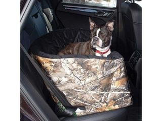 K H Pet Products Realtree Bucket Booster Pet Seat large Camo 14 5  x 22  x 19 5