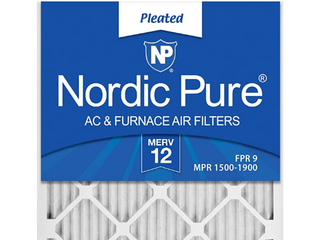 Nordic Pure 10x20x1 MERV 12 Pleated AC Furnace Air Filters 12 Pack