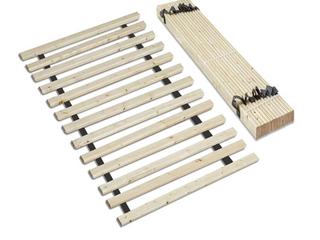 Mattress Comfort 0 75 Inch Heavy Duty Mattress Support Wooden Bunkie Board Slats Twin