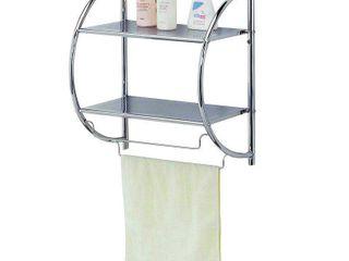 Home Basics Bath Shelf Chrome