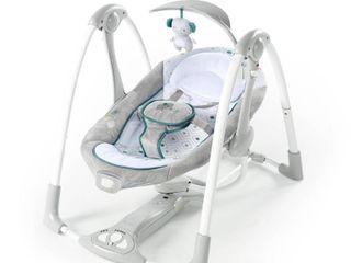 Ingenuity ConvertMe Swing 2 Seat Portable Swing   Nash
