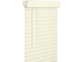 lOTUS   WINDOWARE 2  Faux Wood Blind  35  x 60  Alabaster