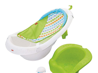 Fisher Price 4 in 1 Sling  n Seat Tub  Multicolor