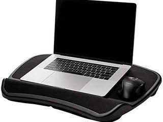 Amazonbasics Xl laptop lap Desk Tray With Cushion  Fits Up To 17 3 Inch  44 C