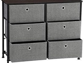 DAMAGE SEE PICTURES  SONGMICS Storage Units  31 5  Gray  Retails 65 99