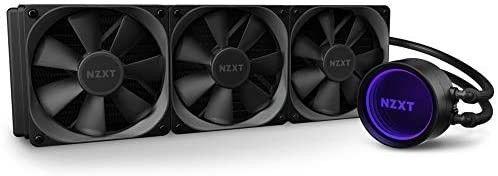 NZXT Kraken X73 360mm  Rl  KRX73 01 AIO RGB CPU liquid Cooler Rotating Infinity Mirror Design  Retails  209 99