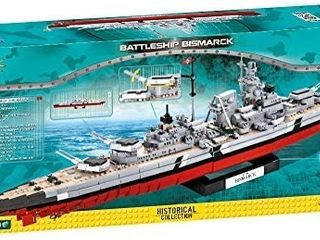 Cob04819   Cobi   Small Army   Battleship Bismarck  2030 Pcs  Retails 199 99