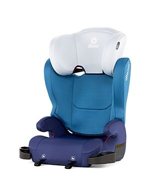 Diono Cambria 2 latch 2 in 1 Belt Positioning Booster Car Seat   Blue  Retails 79 99