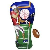 Inflatable Football Toss Target Party Game  Sports Toys Gear And Gifts For Kids Boys Girls And Family