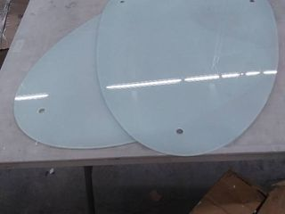 Creative Round Table Tempered Glass  Glass replacement   Missing legs