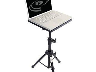 PylePro PlPTS2 Notebook Stand   Gloss   Steel   Black   Pyle