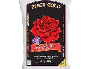Black Gold 1310102 16 Quart All Purpose Potting Soil With Control