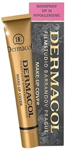 Dermacol 208   Makeup Cover   Foundation   Waterproof Hypoallergenic Usa
