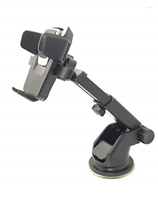 Car Phone Mount Holder Adjustable long Neck One Touch Car Cell