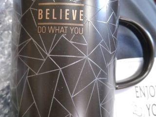 Coffee   Tea Cup   black Do what you believe