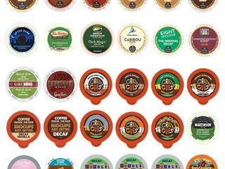 Decaf Coffee Variety Sampler Pack for Keurig K Cup Brewers  30 Count  exp 1 09 21