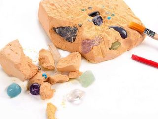 Dig It Up Gemstone Science Educational Dig Kit Natural Stone Excavation Kits for Children