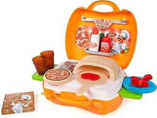 World Tech Toys Pizzeria 22Piece Suitcase Playset