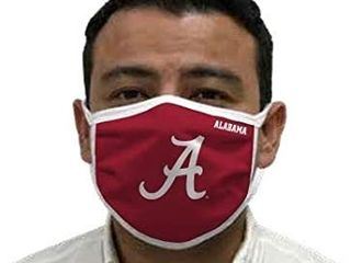 Alabama Crimson Tide Dust Face Cover with Adjustable Earloop Windproof Face Mask Balaclavas 2 pack with filters   see pics for design