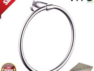 VITO US861 series stainless steel towel ring brushed nickel finish