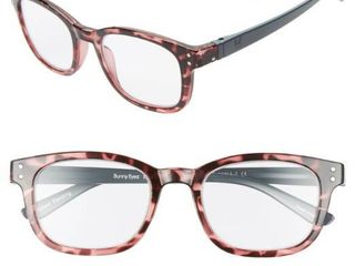 Women s Bunny Eyez The Anna 49Mm Reading Glasses   Baby Pink Tortoise