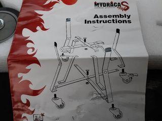 MyDraca  Big Green Egg Grill Rolling Cart  Retails 123 99