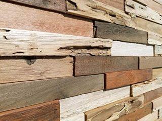 WoodWall Panels  Set Of 10 Panels  Original Rustic RETAIl PRICE 119 00