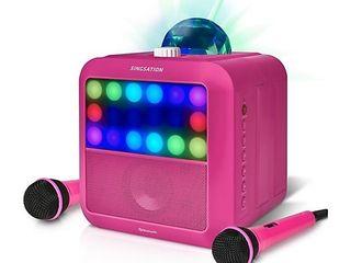 Singsation Star Burst Karaoke System   Bluetooth Speaker Retail Price  76 96