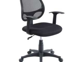 AmazonBasics low back Computer Chair   Black  missing the chair stand and wheels