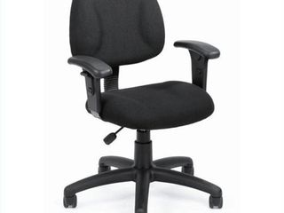 Boss Office Products DX Posture Office Chair with Adjustable Arms in Black Retail Price  161 68