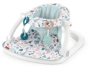 Fisher Price Sit Me Up Floor Seat   Pacific Pebble  Retails 39 99