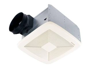 Broan Model QTXE110 110 CFM Ultra Silent Bath Fan  White Grille