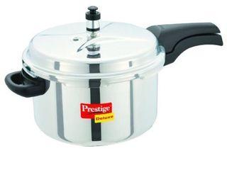 Prestige Deluxe Stainless Steel Pressure Cooker  6 5 liters  Retails 84 95