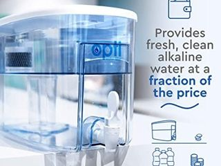 Opti CHIll Alkaline Water Refrigerator Filter Purification Water Unit   Dispenser Naturally Enhances Alkalinity up to pH 9 0   Removes up to 99 99  of Harmful Contaminants and Free Radicals  RETAIl PRICE 109 00