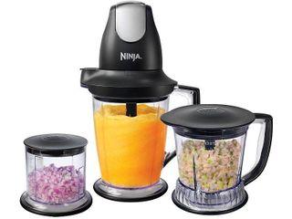 Ninja QB1004 30 Master Prep Professional Blender  Chopper  Ice Crusher and Food  Retails 51 26
