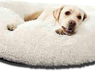 HACHIKITTY Dog Beds Calming Donut Cuddler  Puppy Dog Beds large Dogs  Indoor Dog Calming Beds large 30   RETAIl PRICE 37