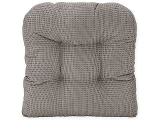Five Therapedic Memory Foam Seat Cushion Chair Pads   Alloy Gray With Micro Dots 2 pack   16 each