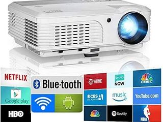 Eug X660s  2020 Bluetooth Projector Wifi Android led Smart Video Home Theater Retail price  299 00