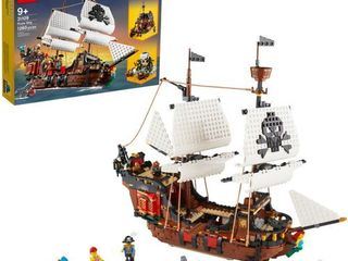 lEGO Creator 3in1 Pirate Ship Toy Model Building Kit Playset 31109 retail price  99 95