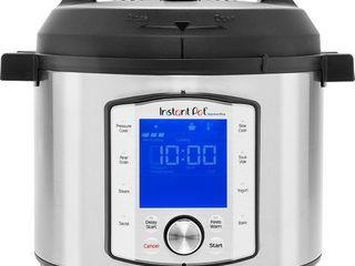 Instant Pot 6qt Duo Evo Plus Multi Use Pressure Cooker  Retails 119 99