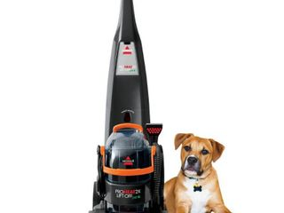 BISSEll ProHeat 2X lift Off Pet Upright Carpet Cleaner   15651  Missing detachable handle  Retail price 399 99