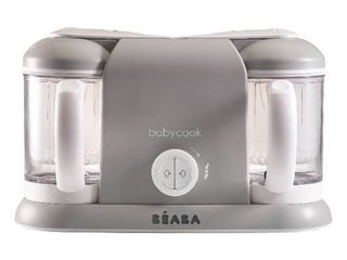Infant Beaba Babycook Duo Baby Food Maker   Recipe Booklet    Grey  Retails 199 99