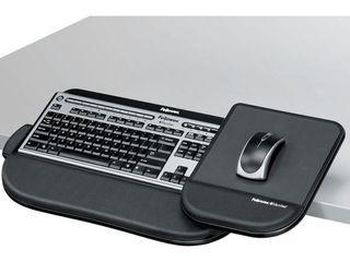 Fellowes  FEl8060201  Tilt  n Slide Pro Keyboard Manager  1  Black  missing the mouse part